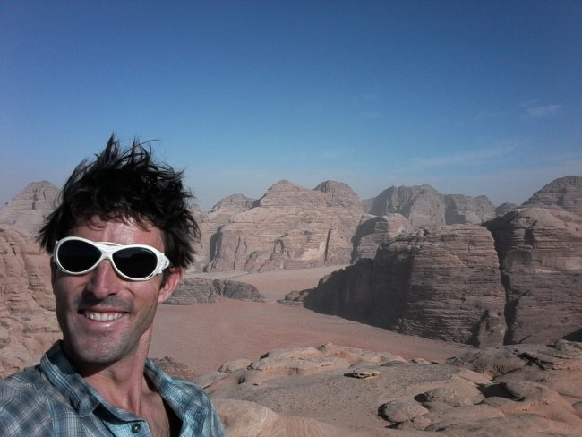 Autoportrait du Jebel um Ejil.