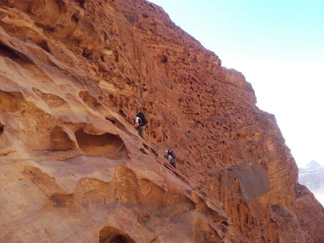 Dans la Sabbah's oute au Jebel Rum.