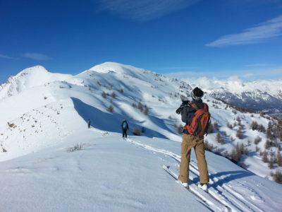 Raid à ski dans le massif du Queyras