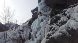 Week-end Ice fall