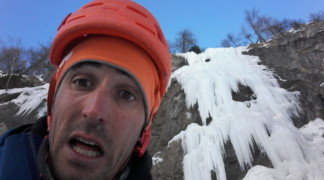 Ice Fall in Freissinières