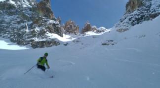 Raid à ski autour de la Meije