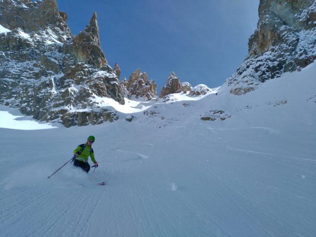 Tour de la Meije en ski.