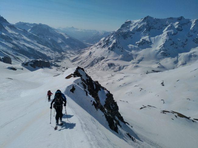 Ski de rando et vallée de la Guisane.