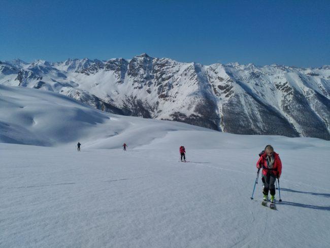 Ski de rando dans le Queyras.