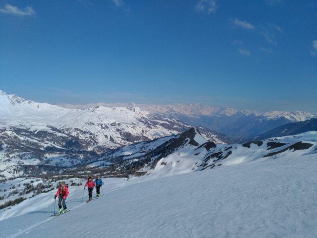 Ski de rando à la Tête de Paneyron.