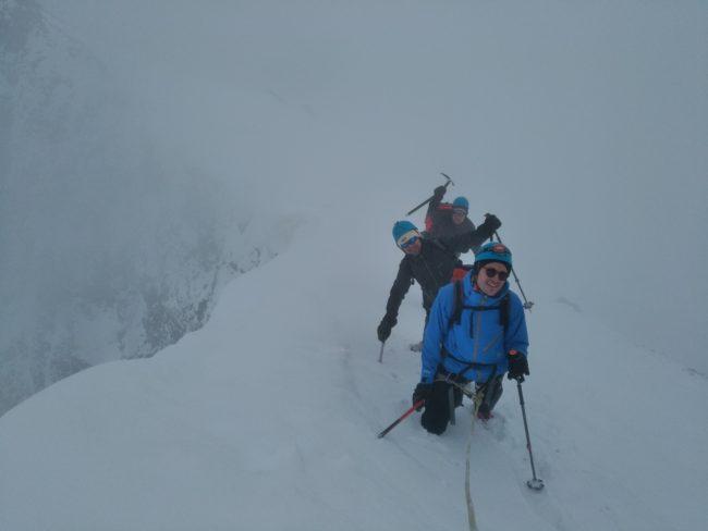 Le sommet de la Roche Faurio en juin 2018.