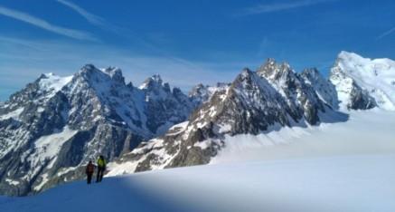 Stage d'initiation à l'alpinisme au glacier Blanc