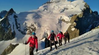 Découverte de l'alpinisme à la Roche Faurio