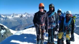 «Pasta tour» au Mont Rose