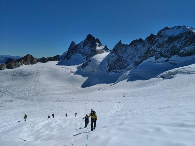 Journée d'alpinisme facile pour débuter à La Grave.