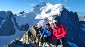 Première expérience en alpinisme à la Roche Faurio